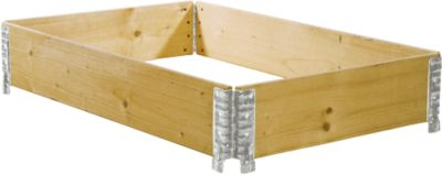 Holzaufsatzrahmen, medial faltbar, 800 x 1200 x 200 mm