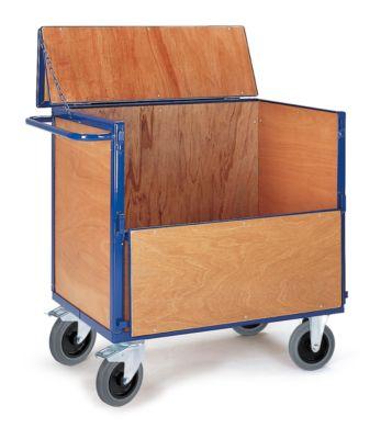 Holzkastenwagen mit Deckel, 1165x765 mm