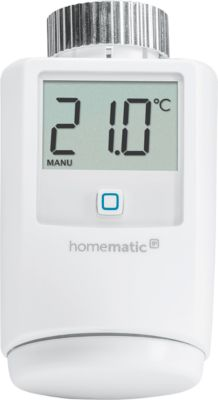 Homematic IP Heizkörperthermostat, IP 20, 3 einstellbare Heizprofile, Smart Home