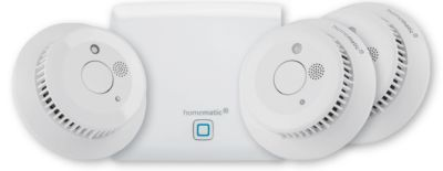Homematic IP Rauchwarnmelder-Set, Starter Set, 4-teilig, Smart Home