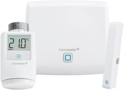 Homematic IP Raumklima Starter-Set, für Heizungssteuerung, 3-teilig, Smart Home