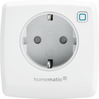 Homematic IP Schalt-Mess-Steckdose, ein- und ausschalten, Smart Home