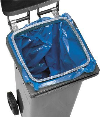 Houder voor vuilniszakken in 240 liter tonnen