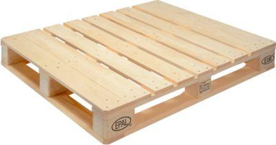 Houtenpallets EPAL EUR 2, 1200 x 1000 mm,maxi draagvermogen 1500 kg, 10 stuks