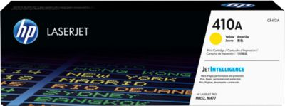 HP 410A Color LaserJet CF412A Druckkassette gelb