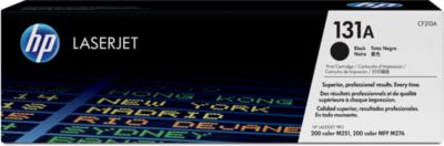 HP Color LaserJet CF210A Druckkassette, schwarz