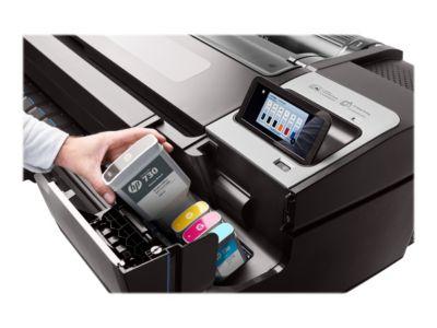 HP DesignJet T1700dr - Großformatdrucker - Farbe - Tintenstrahl