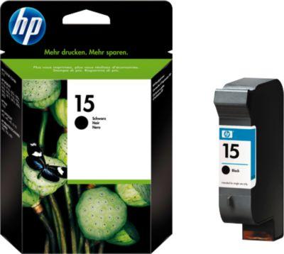 HP Druckpatrone Nr. 15 schwarz (C6615DE)