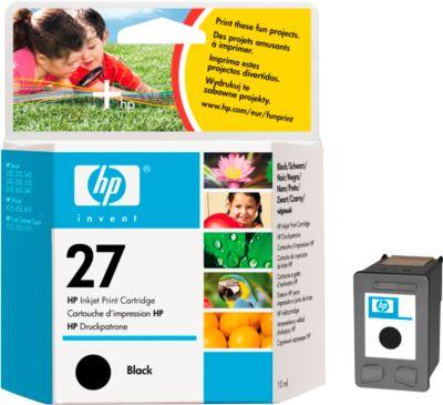 HP Druckpatrone Nr. 27 schwarz (C8727AE)