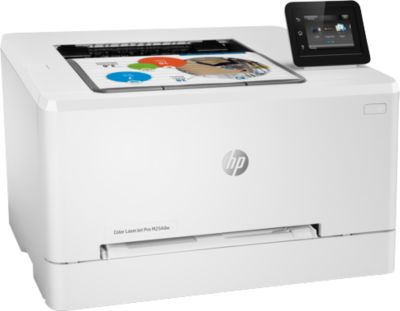 HP Farblaserdrucker Color LaserJet Pro M254dw, Druck 21 S./Min., Wi-Fi, Touchscreen