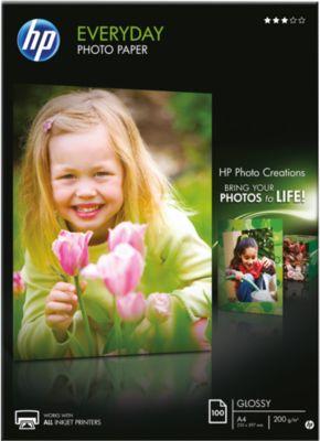 HP Fotopapier Everyday HP Q2510A - Doos van 100 blad