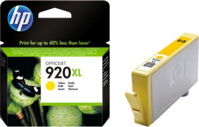 HP inkjet HP CD974AE|920 XL Inktcartridge geel, 700 Paginas