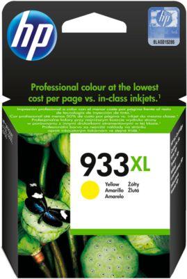 HP inkjetpatroon CN 056 AE, nr. 933XL, geel