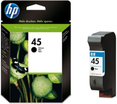 HP inktpatroon 51645AE, nr. 45, noir