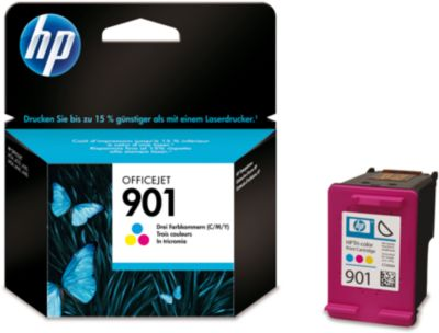 HP inktpatroon CC656AE, nr. 901, color