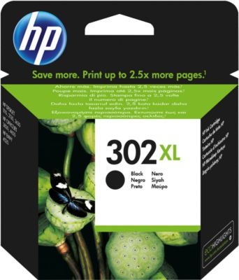 HP inktpatroon nr. 302XL, zwart (F6U68AE)