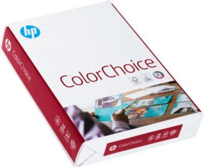 HP Kopierpapier ColorChoice, DIN A4, Grammatur 90 g/m², 500 Blatt