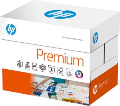 HP Kopierpapier Premium, DIN A4, ideal f. externe Korrespondenz, 2500 Blatt