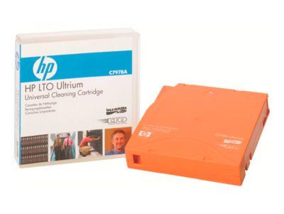 HP LTO Ultrium Cleaning Datenkassetten, orange, Ultrium Universal-Reinigungskassette