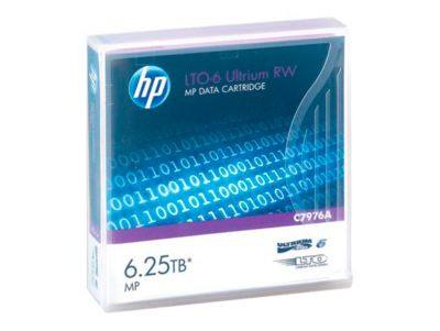 HP LTO6- Ultrium Datenkassetten, violett, 2,5 TB, 6,25 TB bei 2,5:1 Komprimierung