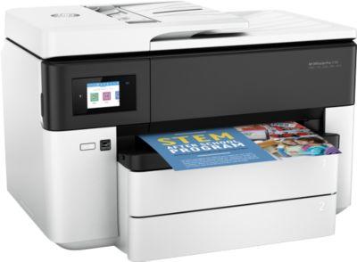 HP OfficeJetPro 7730 All-in-One, druckt bis DIN A3, mit 6,73 cm Farb-Touchscreen