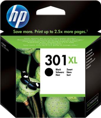 HP printpatroon CH563EE, nr. 301XL, zwart