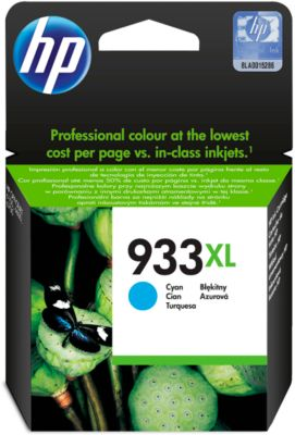 HP printpatroon Nr. 933XL cyaan (CN054AE)