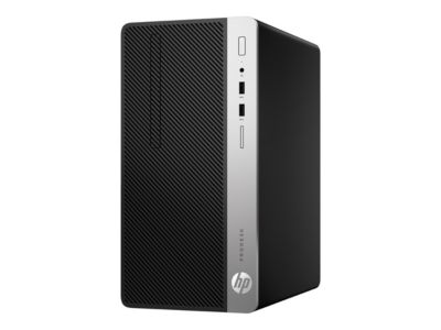 HP ProDesk 400 G5 - Micro Tower - Core i5 8500 3 GHz - 8 GB - 256 GB - Deutsch