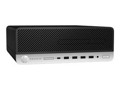 HP ProDesk 600 G4 - SFF - Core i5 8500 3 GHz - 8 GB - 256 GB - German