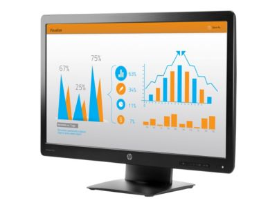HP ProDisplay P232 - LED-Monitor - Full HD (1080p) - 58.4 cm (23