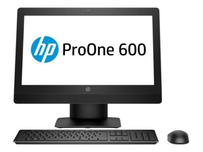 HP ProOne 600 G3 - All-in-One (Komplettlösung) - Core i5 7500 3.4 GHz - 8 GB - 1 TB - LED 54.61 cm (21.5