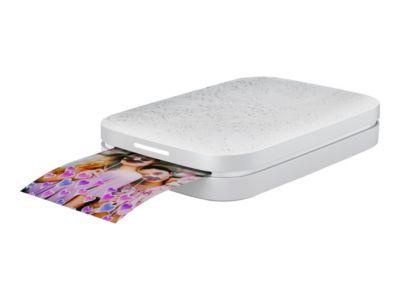 HP Sprocket 200 - drucker - Farbe - Zink - mit HP ZINK Fotopapier mit klebender Rückseite (10 Blätter)