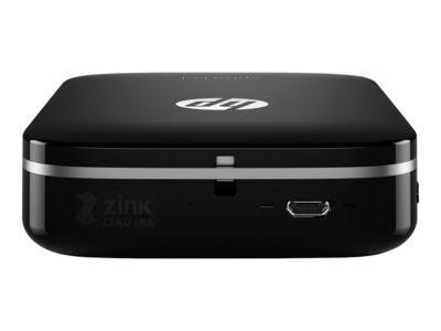 HP Sprocket Photo - drucker - Farbe - Zink - mit HP ZINK Fotopapier mit klebender Rückseite (10 Blätter)