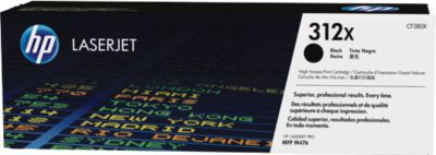 HP Toner Color LaserJet CF380X, nr. 312X, zwart