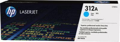 HP Toner Color LaserJet CF381A, nr. 312A, cyaan
