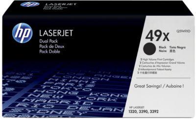 HP toner HP Q5949XD|49 X Tonercartridge zwart twin pack, 6.000 Paginas/5%, Inhoud VE=2