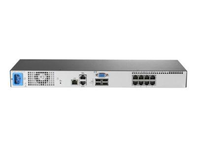 HPE KVM Console G3 Switch 0x1x8 - KVM-Switch - 8 Anschlüsse - an Rack montierbar