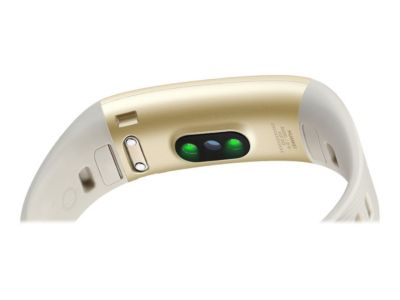 Huawei Band 3 Pro - quicksand gold - Aktivitätsmesser mit Riemen - 16 MB
