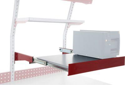 Hüdig+Rocholz Auszugboden System Flex, Nutzfläche 720 x 500 mm, höhenverstellbar
