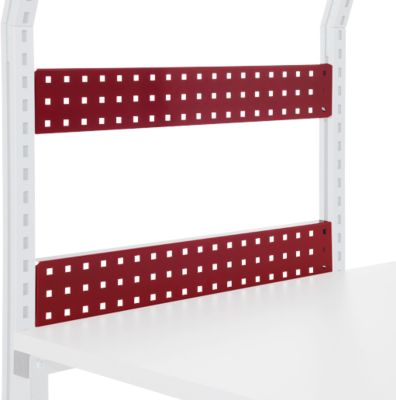 Hüdig+Rocholz geperforeerde achterwand Flex-systeem, 800 x 100 mm, flexibele hoogteverstelling, 800 x 100 mm, flexibele hoogteverstelling