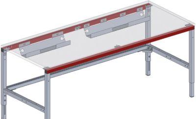 Hüdig+Rocholz Kabelwanne System Flex, 800 mm, zur Selbstmontage