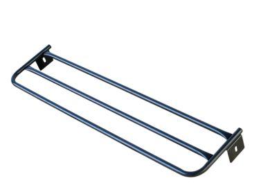 Hutablage für Umkleidebank, Stahl, 1015 mm lang, anthrazit