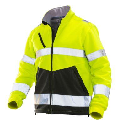 HV Fleece Jacke gelb/schwarz L