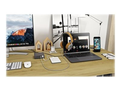 i-Tec USB-C Metal 4K Docking Station - Docking Station - HDMI