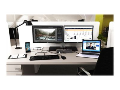 i-Tec USB-C / USB-A 3.0 4K Dual Video Docking Station - Docking Station