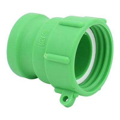 IBC-adapter DN50 naar 2-inch Camlock vaderkoppeling en BSP fijne draad DN50 naar 2-inch.