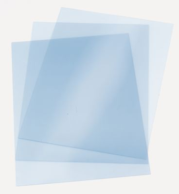 ibiClear doorzichtige dekbladen, A4, 200 micron, transparant, 25 stuks