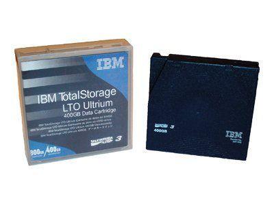 IBM TotalStorage - LTO Ultrium 3 x 1 - 400 GB - Speichermedium