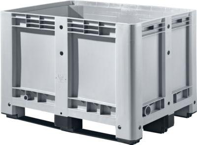 Industriebox, mit 3 Kufen, 470 Liter