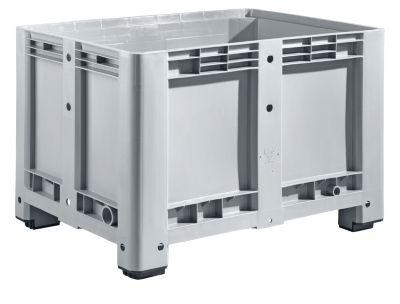 Industriebox, mit 4 Füßen, geschlossen, 470 Liter